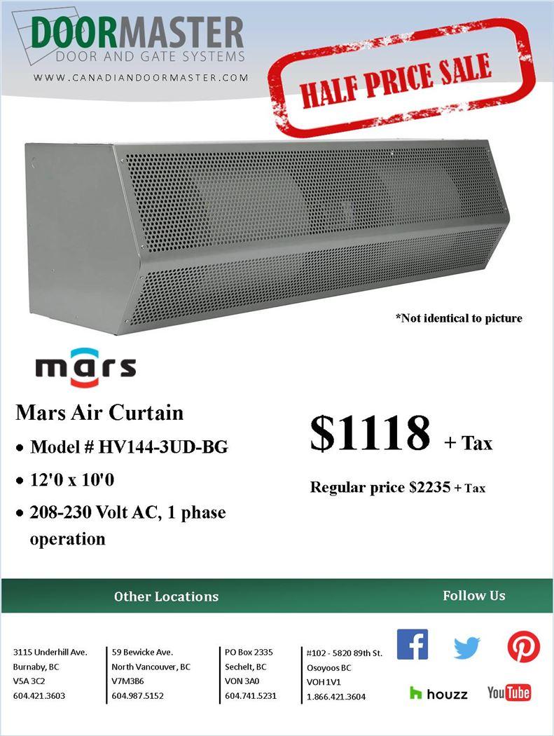 MARS Air Curtain [SALE]