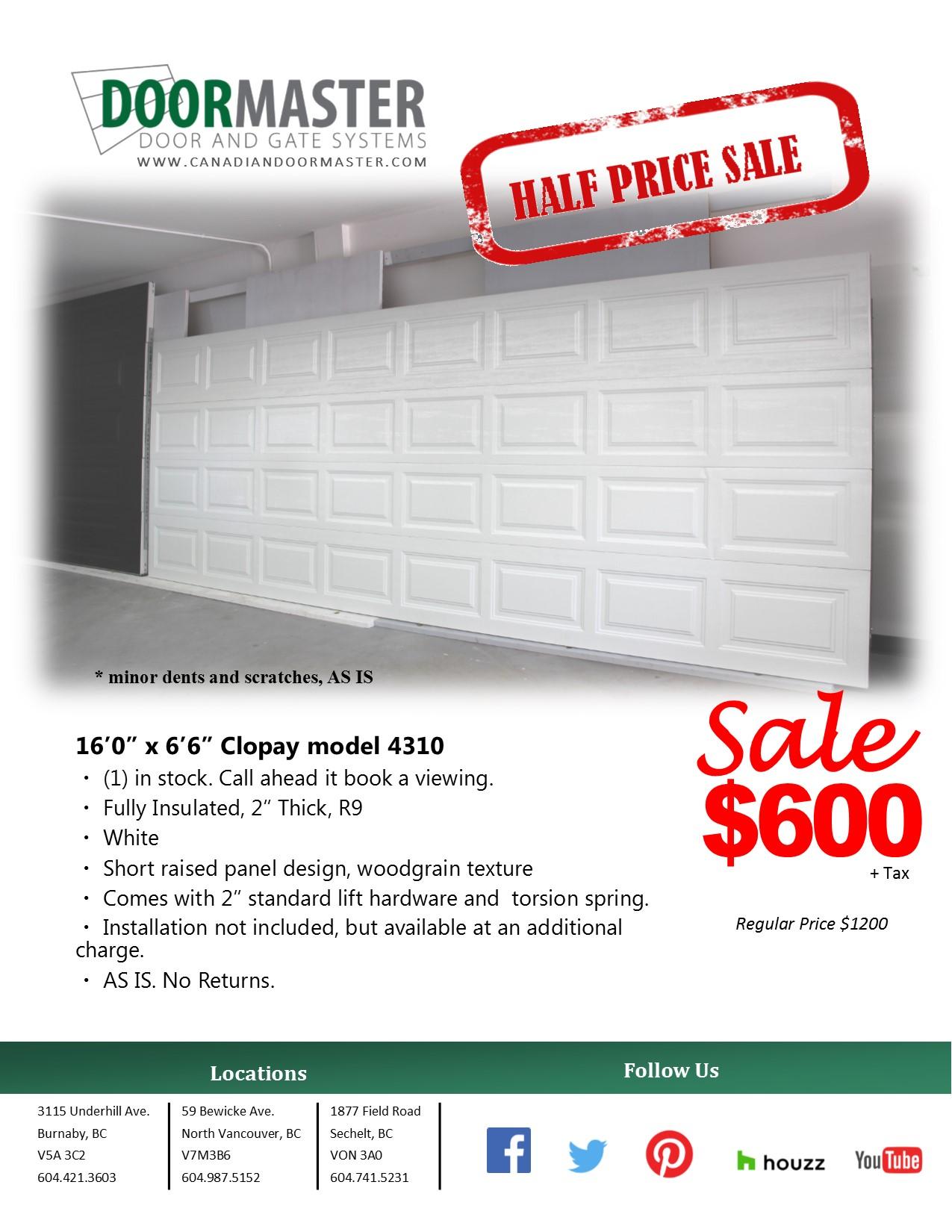Garage Door Installation And Repair In Vancouver