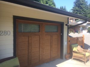Garage door in Gibsons after