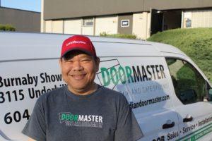 Commercial garage door sales