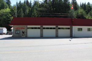 Halfmoon Bay Firehall garage doors