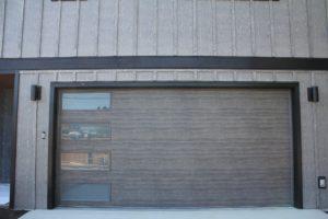 sechelt clopay garage door wood grain