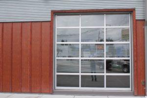 Sunshine Coast Commercial overhead garage doors