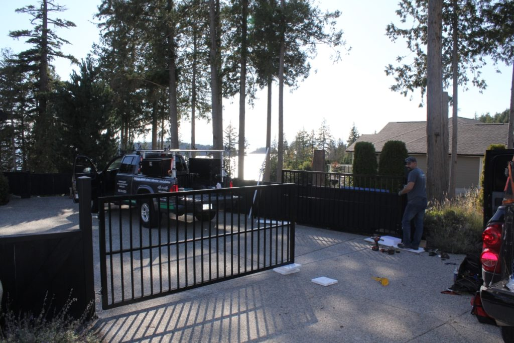 Swing Gate Installation from start to finish