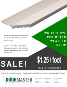 Vancouver weather stripping sale