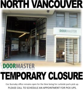 Doormaster response to Covid-19