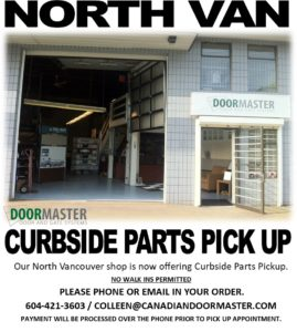 North Vancouver emergency garage door repair