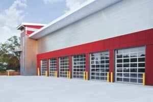 Emergency Fire Hall Building