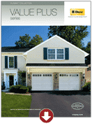Clopay Classic ValuePlus garage doors