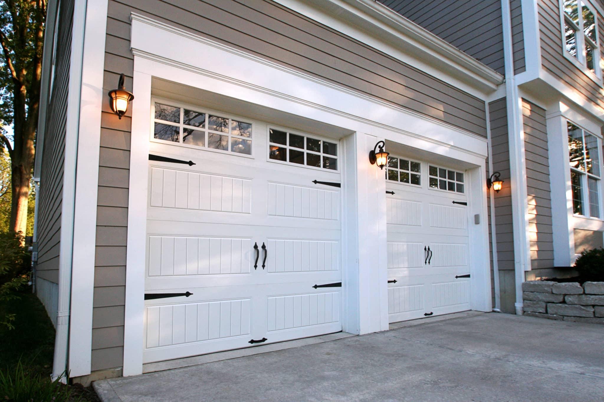 Clopay Gallery garage door 10'0″ wide x 8'0″ high