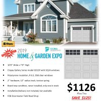 Last one! Garage Door Sale