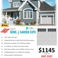 Garage Door sale price Sunshine Coast