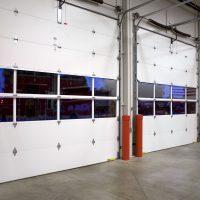 mechanical garage door
