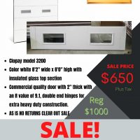 Clopay garage door sale