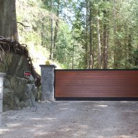 Sliding gate installation in Halfmoon Bay