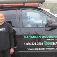 Cisell Kiamco garage door apprentice installer