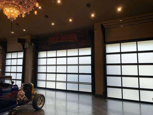 Rolflex garage door installation Vancouver