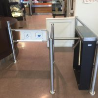Turnstile Installation in Vancouver